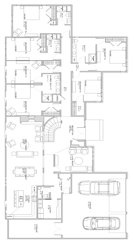 The Braeburn Assisted Living Home Floor Plan
