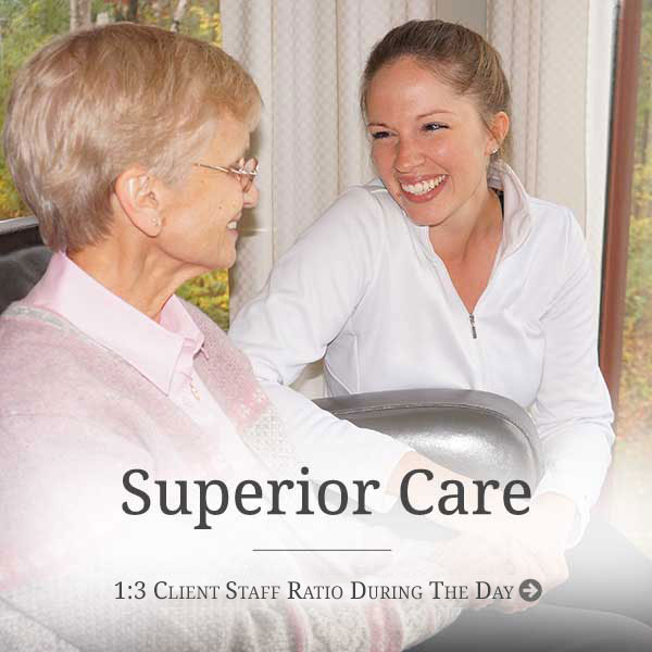 Superior Care at Our Senior Living Housing